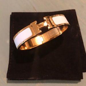 Hermès Clic H bracelet